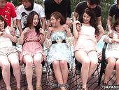 Japanese reality show 18+ featuring several amateur Asians
