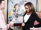 Heart breaker woman Tory Lane entices one young married man