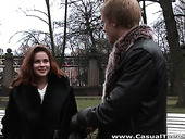 Casual sex with amateur Russian student Emma Brown