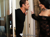 Handsome poorboy seduced by hot like fire milf Alektra Blue