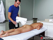 Young masseur has the honor to fuck drop dead gorgeous cougar Alexis Fawx