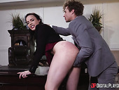 Business woman with sexual magnetism Dana DeArmond is fucked hard in the office
