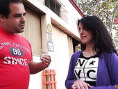 Spanish babe Ana Marco is picked up and fucked hard by one stranger man