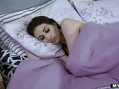 Stepdaughter and stepmom are sleeping together and making love