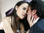 Old rich man fucks pretty young mistress Dillion Harper and ejaculates in her mouth