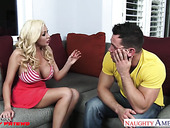 Johnny Castle can't say no to GF's busty friend Summer Brielle Taylor