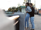 Amateur couple from St. Petersburg makes love like there's no tomorrow