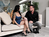 Melissa Lynn and Johnny Castle are making love like there's no tomorrow