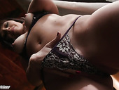Voluptuous babe Alana Cruise is playing with her big dildo fallow