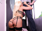 Always sex starved bitch Luna Star gets a mouthful of cum after crazy sex with her BF