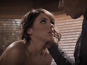Older man teaches beautiful babe how to take cock down her throat and fucks her anus