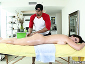 Erotic massage makes Jayden Jaymes too horny
