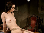 Bare boned Jeanine Hot is punished by her mistress Kathia Nobili