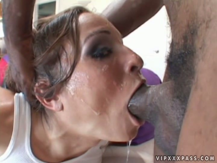 Cum all over her body