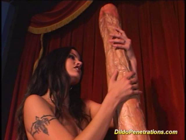Girl Sets On Big Dildo On Come Get You Some