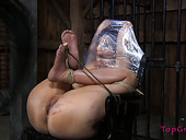 Roped and wrapped in plastic  hoochie  asks for help