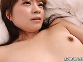 Mesmerizing and hot nympho Mei Itoya gets her quim poked missionary
