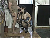 Pallid and ugly bitch Natasha Romanova gets fucked on the carpet