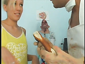 Quickie in the hospital with slutty blonde chick Jessica