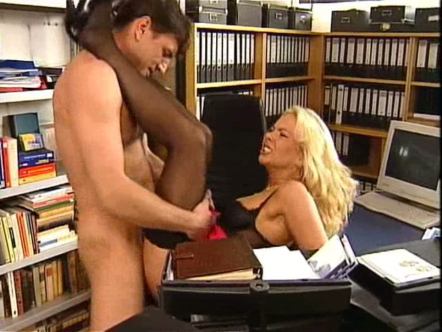 Secretary fucked on her desk