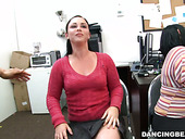 Skanky office girls going wild at the party