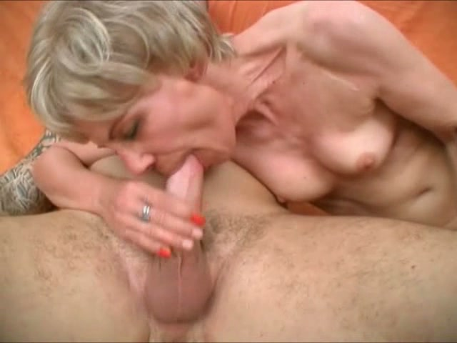 English milf fucks handsome big cock boy - 1 8