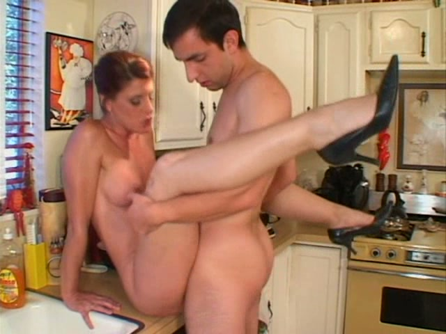 Horny housewife shanda fay gives hubby bj in stormy weather