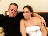 Cubby  pregnant  wife gives her husband blowjob