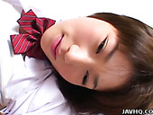 Shy Japanese student Shinobu Kasagi is screwed bad in a passionate sex video