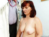 Sex hungry granny Zita gets horny during medical examination