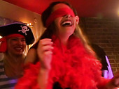 Insatiable folks pose sultry in Halloween costumes