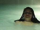 Zuzinka wanks in a pool until she cums and flatters with joy in the water