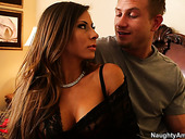 Gorgeous busty  babe Madison Ivy enjoys passionate coition