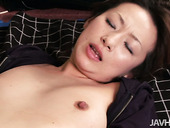 Japanese whore Miki gets her pussy licked by her attentive lover
