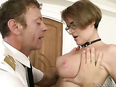 Skanky girls give a head to pass a casting on air hostess