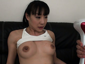 Emotional Miho Wakabayashi desires to get her wet pussy pleased with sex toy